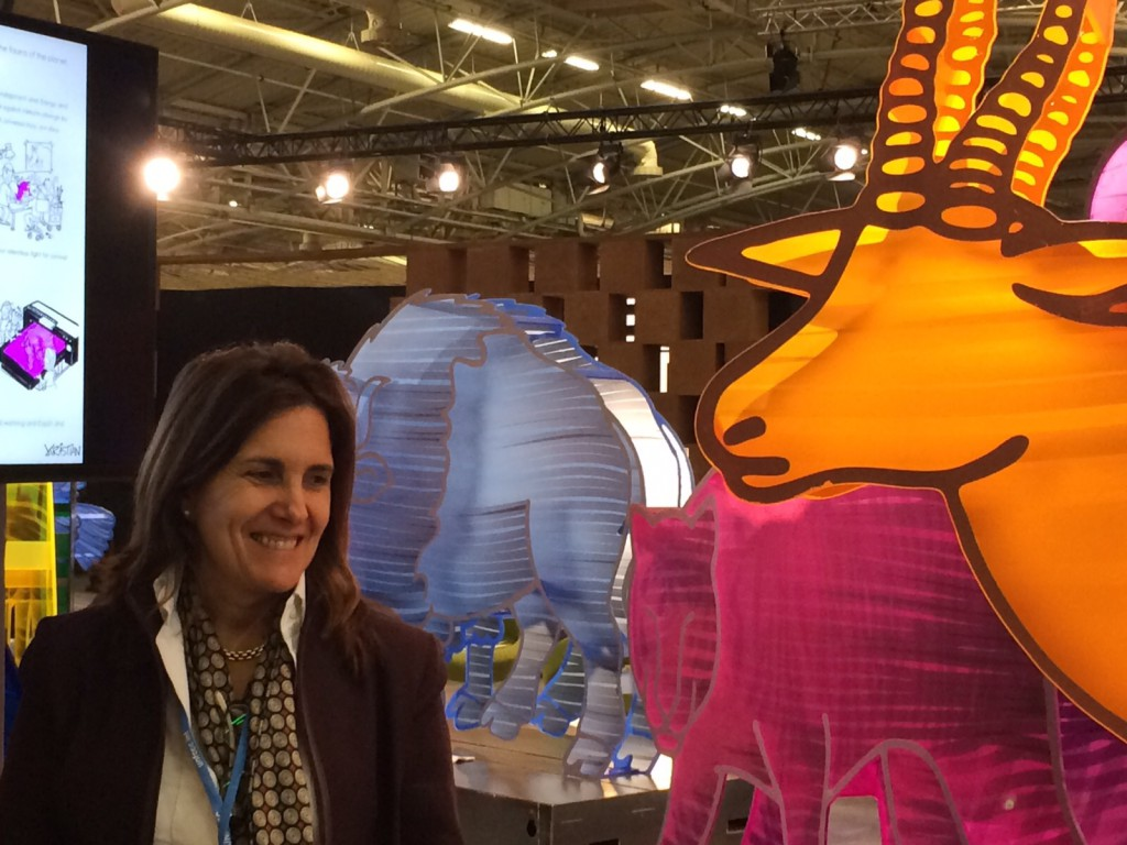 María Rigou en COP 21 4