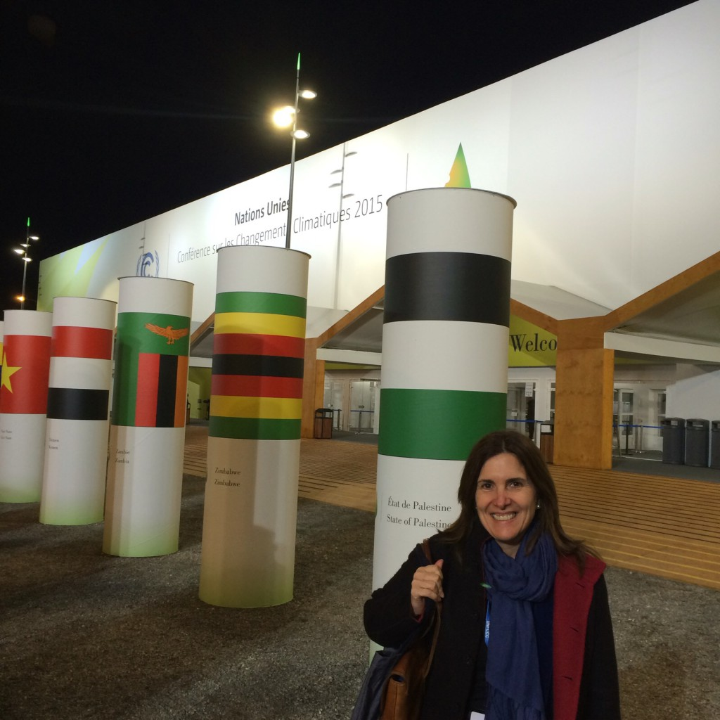 María en COP21 5